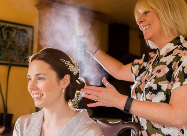 wedding hairdresser north east UK